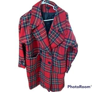 Coco+Carmen Plaid Jacket Size S/M